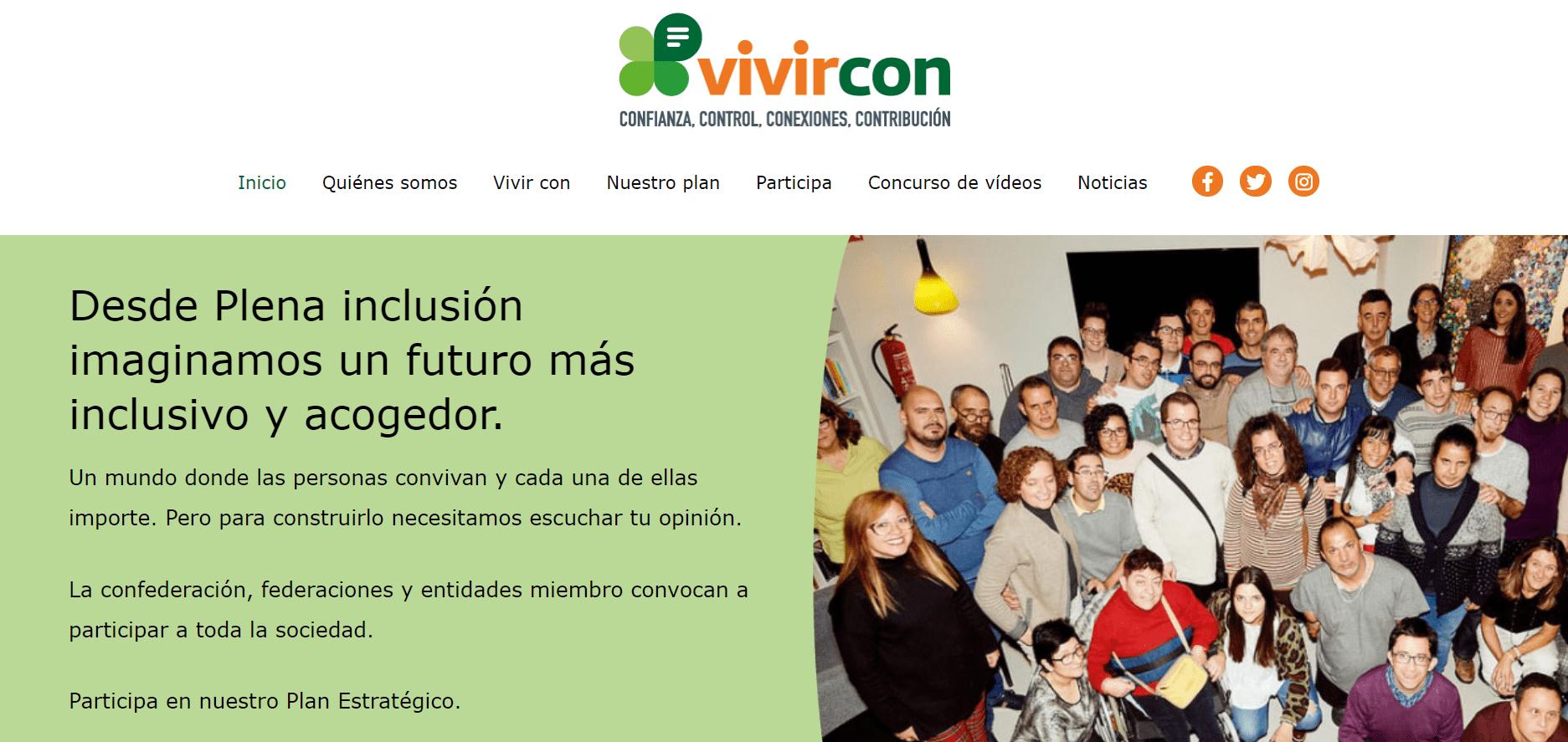 web vivircon captura