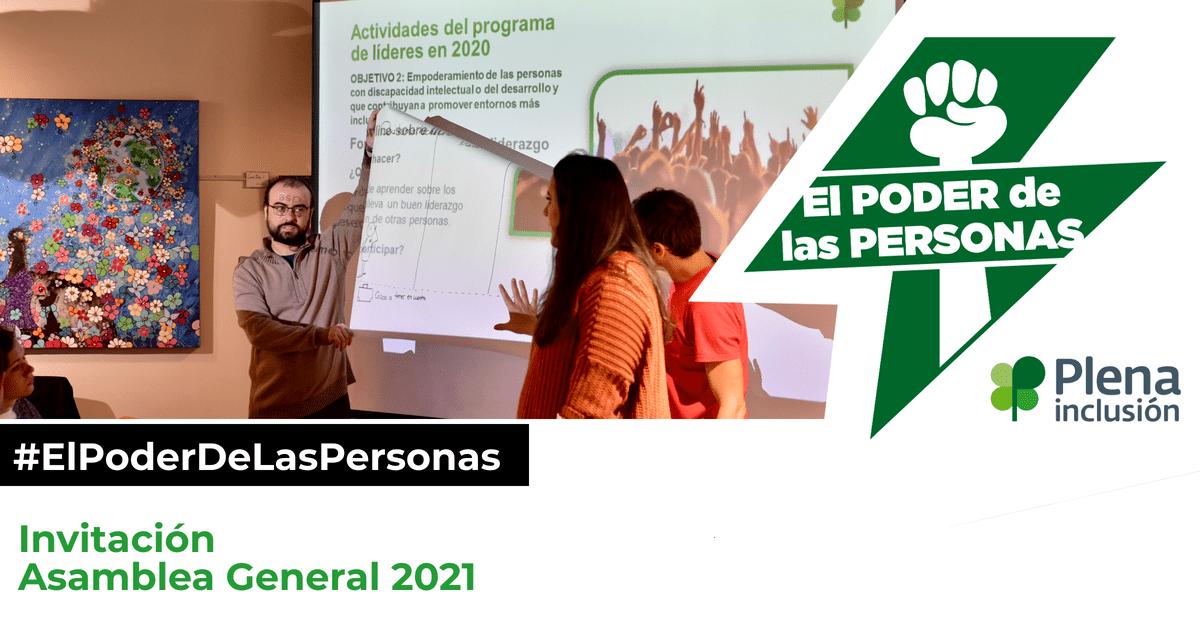 Ir al evento: Asamblea General Ordinaria de Plena inclusión España