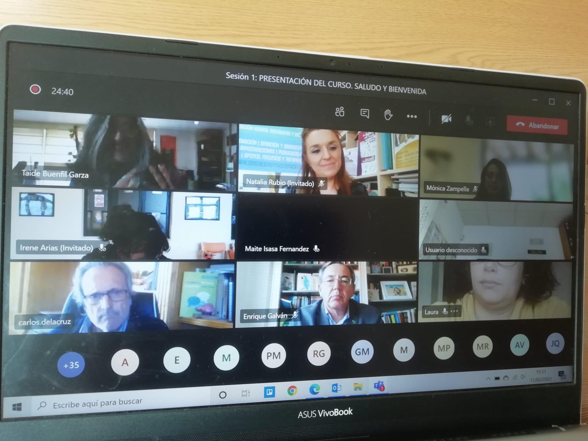 Ir a : Alumnado de América Latina y España participa en un proyecto de formación online sobre Sexualidad y Discapacidad promovido por Plena inclusión y Confe México