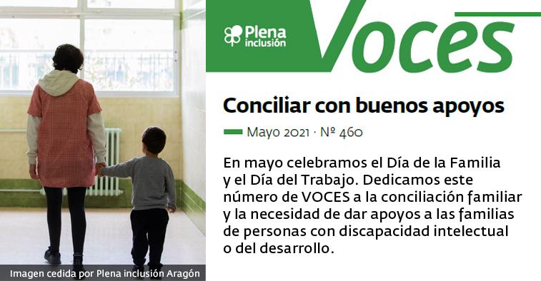 Ir a : La conciliación de las familias de personas con discapacidad intelectual o del desarrollo protagoniza la nueva revista digital VOCES