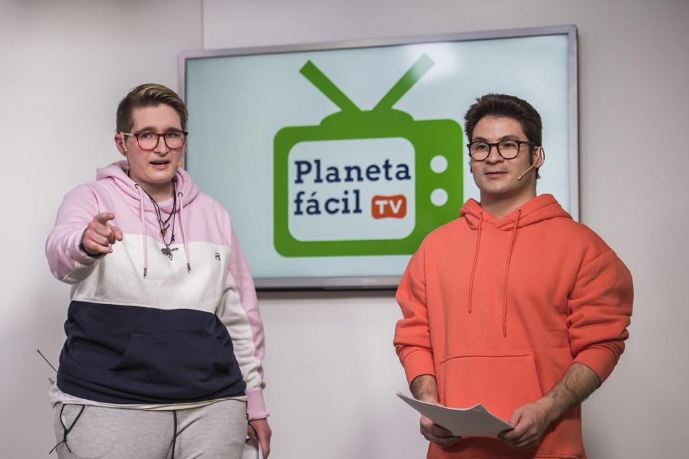 Ir a : Nace el primer programa online de TV accesible para las personas con discapacidad intelectual o del desarrollo y protagonizado por ellas