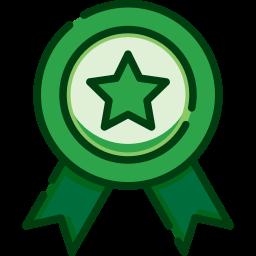 icono premio calidad estrella reconocimiento