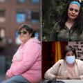 3 mujeres con discapacidad intelectual