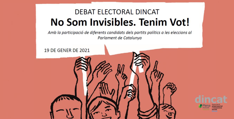 Ir a : dincat Plena inclusión Cataluña se moviliza de cara a las elecciones del 14 de febrero de 2021