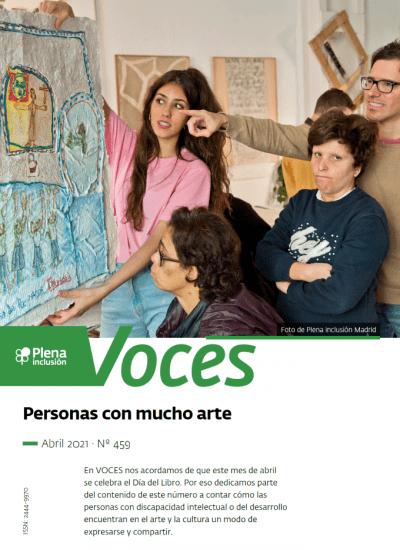 portada Plena inclusión. Revista Voces 459