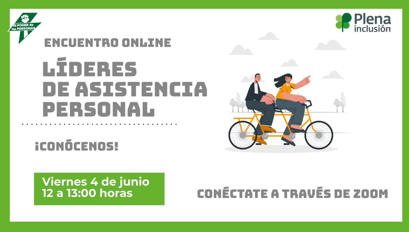 Ir al evento: Encuentro online: líderes de Asistencia Personal