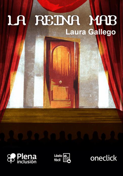 portada la reina mab laura gallego lectura fácil teatro