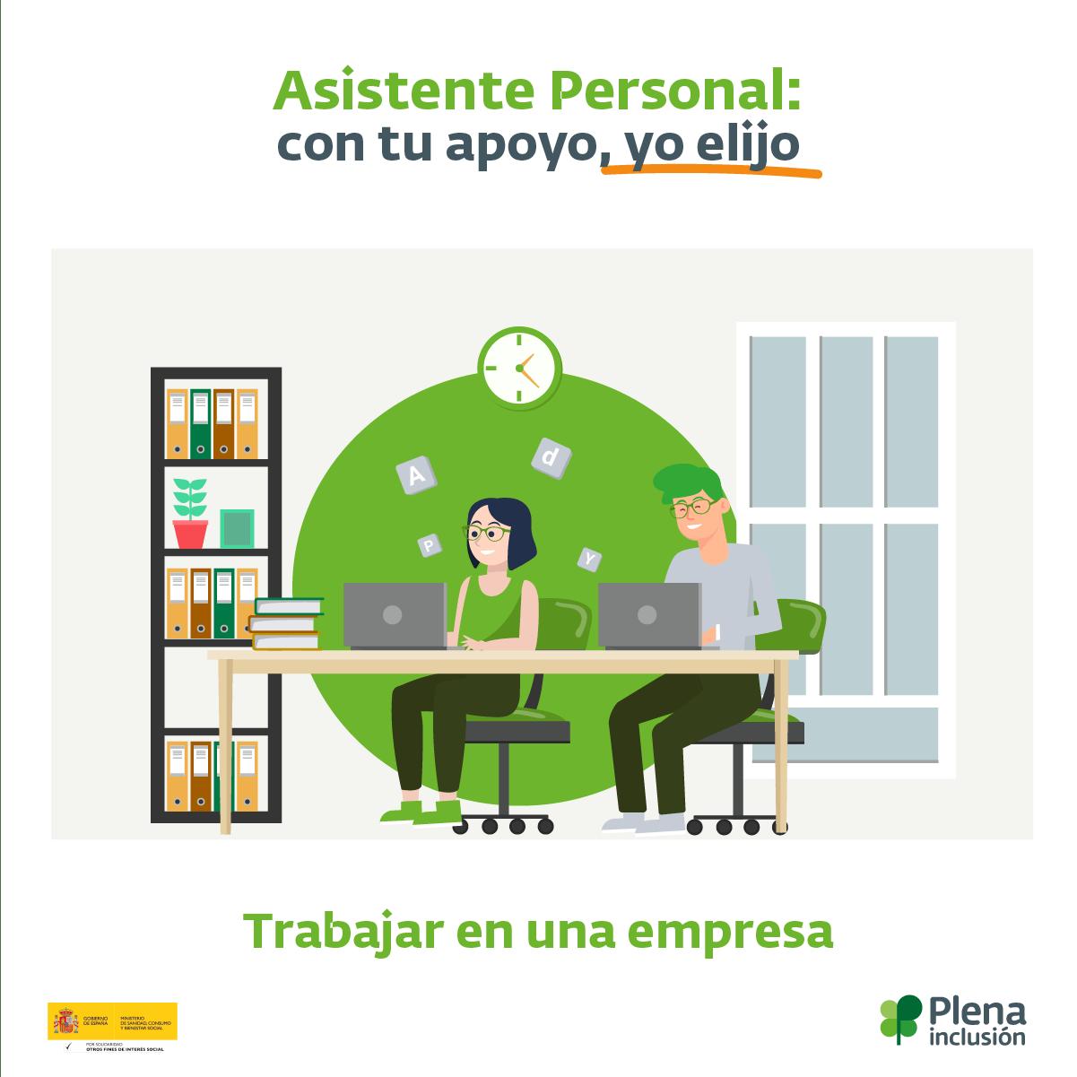 Ir a La campaña #ConTuApoyoYoElijo promueve la  asistencia personal