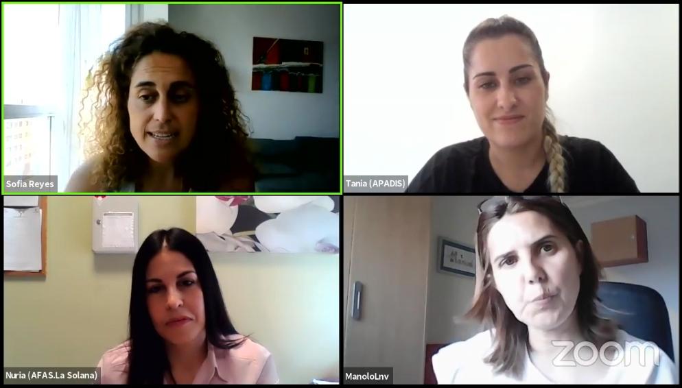 Ir a : Hablamos de la participación de personas con grandes necesidades de apoyo con las expertas Nuria Cabello y Tania Tejero
