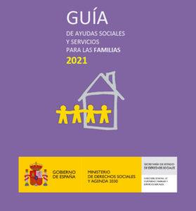 Portada de la Guía de Ayudas para Familias 2021