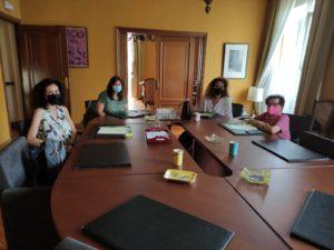 Reunión de representantes de Plena inclusión con Jesús Martín