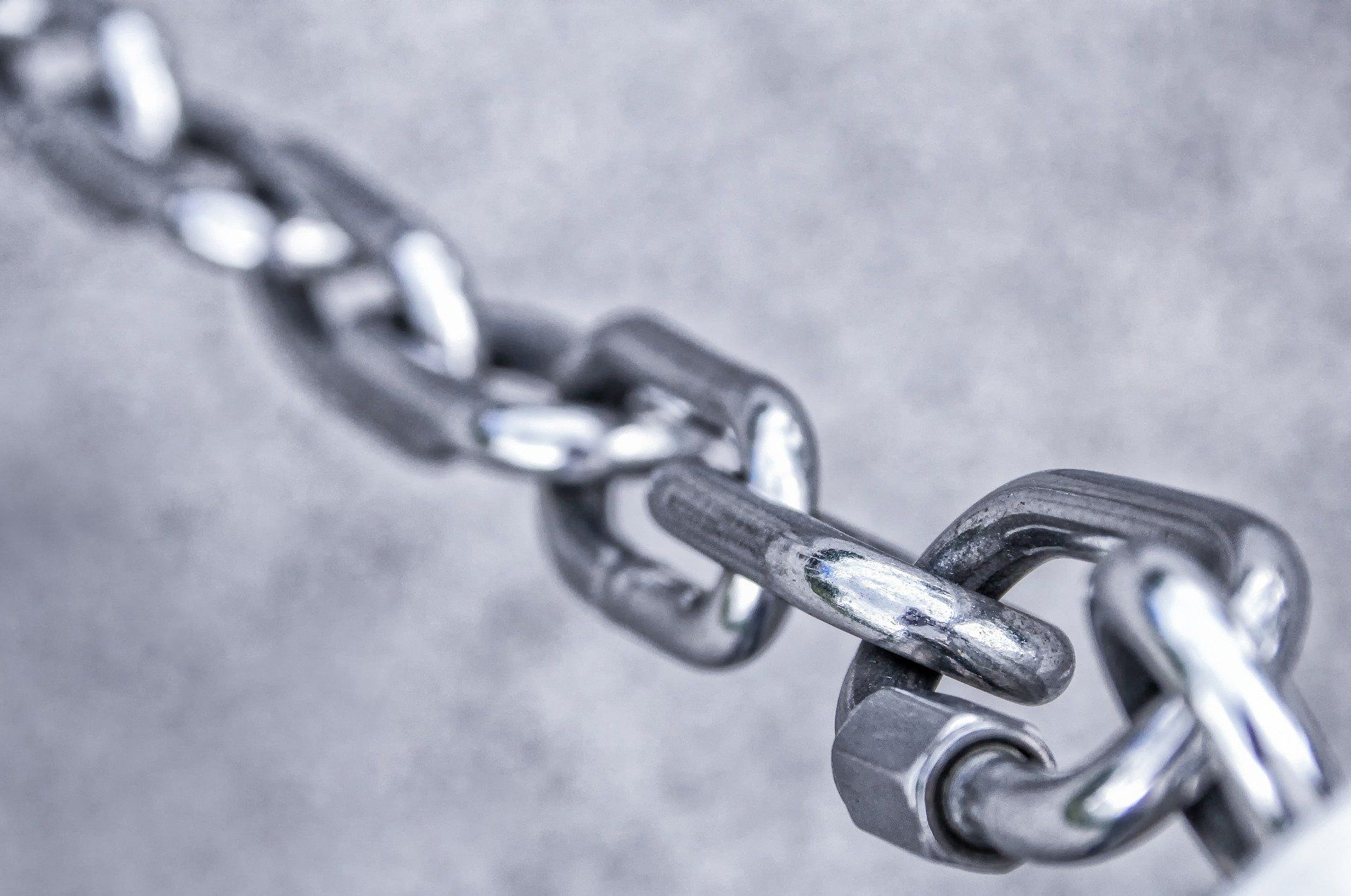 cadena gris foto