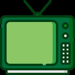 icono televisión medios de comunicación difusión
