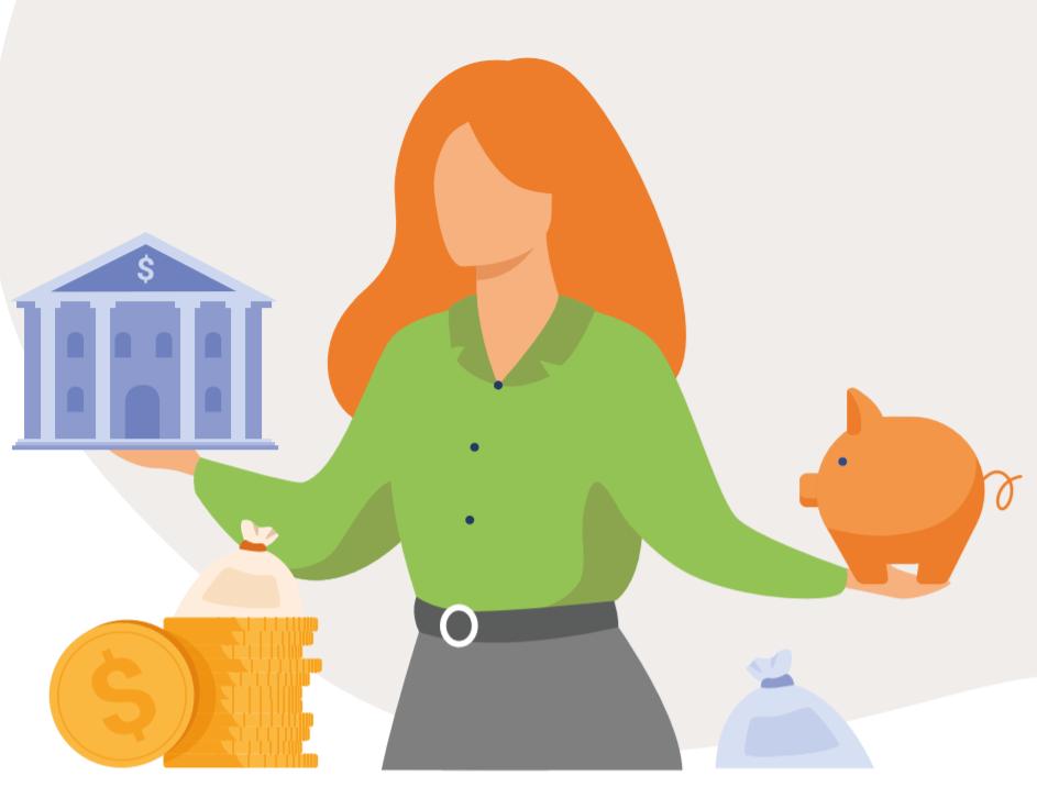 Ir a : Finanzas para mortales: una guía en lectura fácil para saber cómo controlar tu dinero