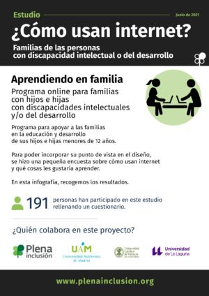 Ver Cómo usan internet las familias de las personas discapacidad intelectual
