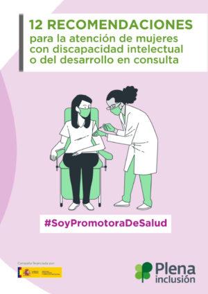 Ver 12 recomendaciones para la atención de mujeres con discapacidad intelectual o del desarrollo en consulta
