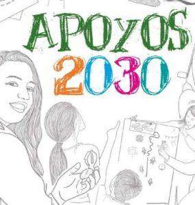 apoyos 2030 ilustración cuadrada