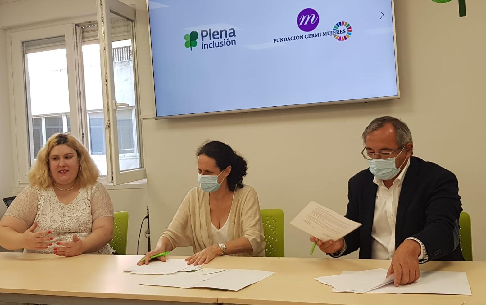 Ir a Plena inclusión y Fundación CERMI Mujeres se unen para defender los derechos de las mujeres con discapacidad intelectual o del desarrollo