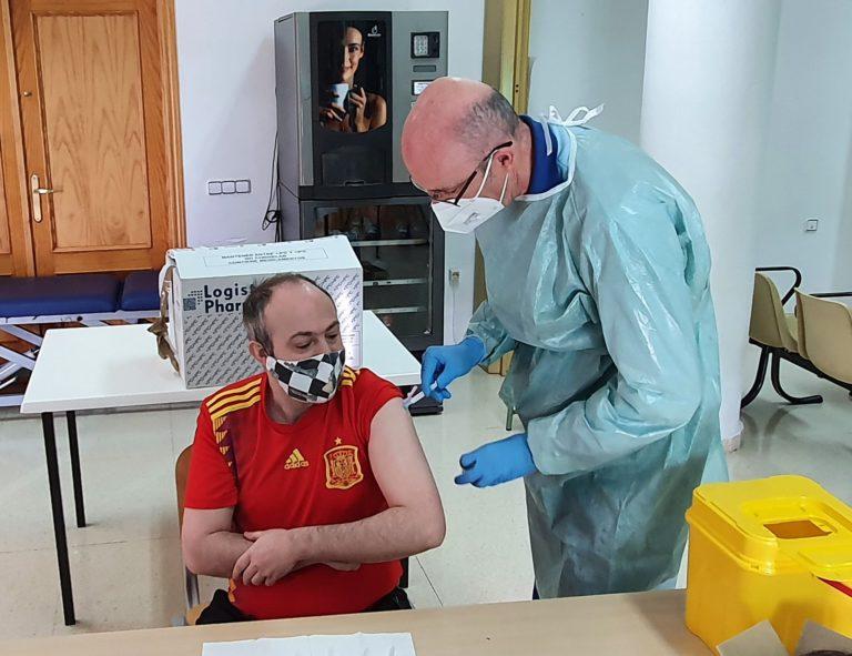 Vacunación en residencias