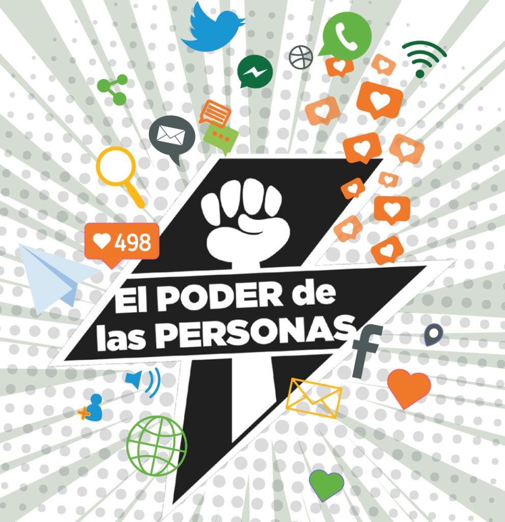Logo campaña el poder de las personas