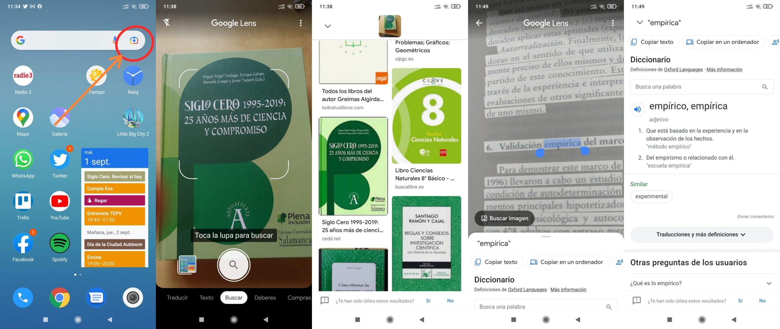 Ir a : Google Lens, una aplicación que hace más sencillo y sorprendente buscar información