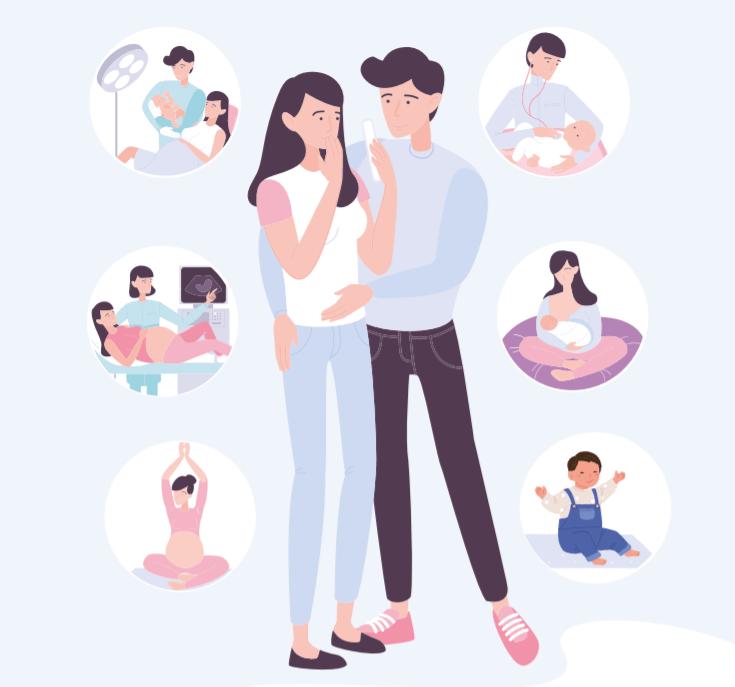 guía canarias madres discapacidad intelectual ilustración