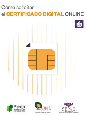 Ver Cómo solicitar el certificado digital online