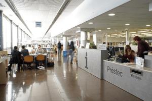 mostrador biblioteca